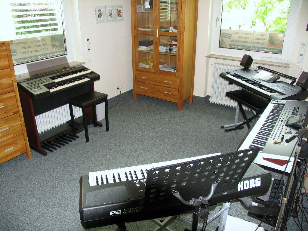 Orgel und Keyboards