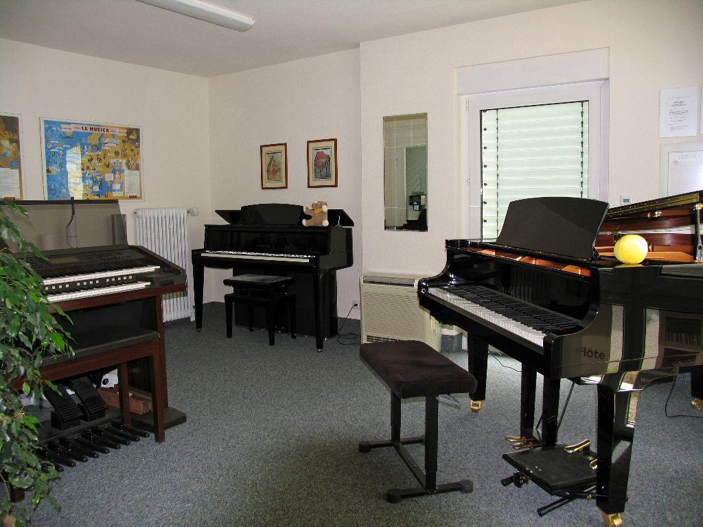 Orgel, Digital-Piano und Flügel
